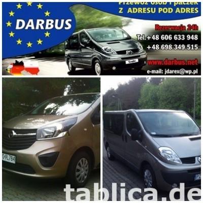 BUSY z Niemiec  do Polski  z Adresu pod Adres.