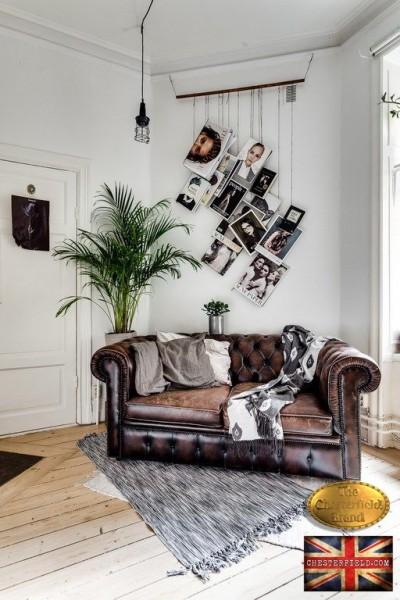 Chesterfield sofa 2 os Brighton