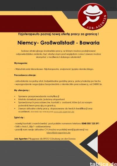 Fizjoterapeuta oferta pracy Bawaria