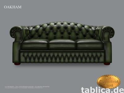 Chesterfield Oakham sofa antyczna zielen