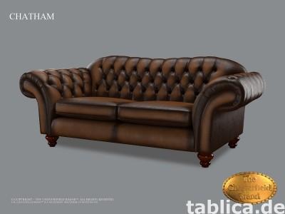 Chesterfield sofa skorzana  Chatman
