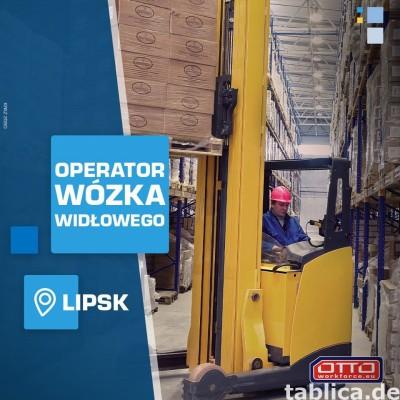 Operator wózka widłowego czołowego (Niemcy)