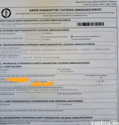 Pomocy walka z nowotworem pomagam.pl gosiachloniak