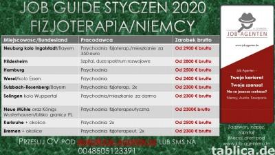 Fizjoterapeuta oferty pracy w Niemczech