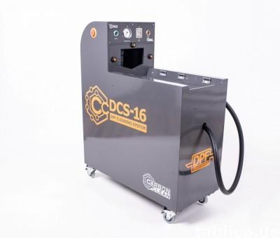 DCS-16 maszyna do czyszczenia filtrów DPF regeneracja FAP