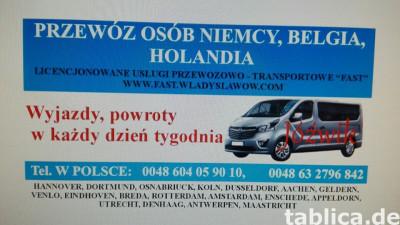 Busem do Niemiec i Holandii