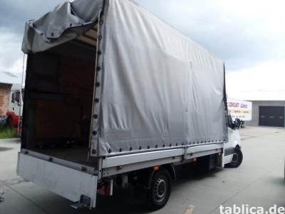 Transport mebli , okien , mat. budowlanych Polska Niemcy