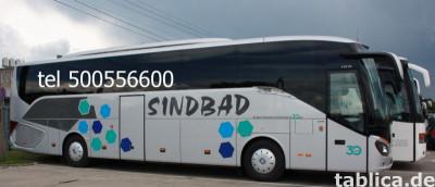 Bilety autokarowe do Niemczech! Biuro Podróży Geotour