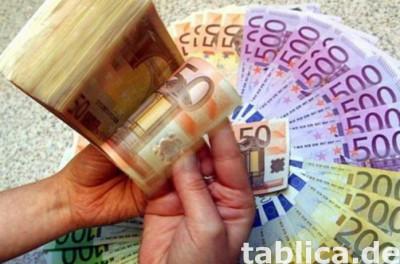 oferta pożyczki pieniężnej między poważną i uczciwą osobą
