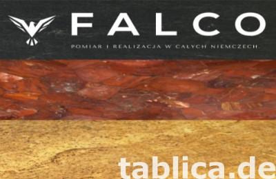 Spieki Kwarcowe Blaty, posadzki, ściany, elewacje FALCO