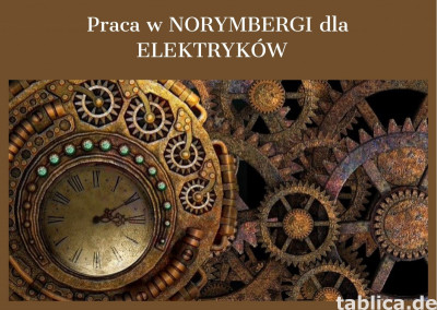 Praca w Norymbergi dla Elektryków