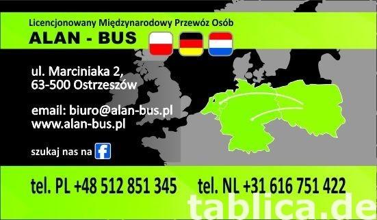 przewozy transport busy Niemcy Pleszew Jarocin Ostrów Kalisz 0