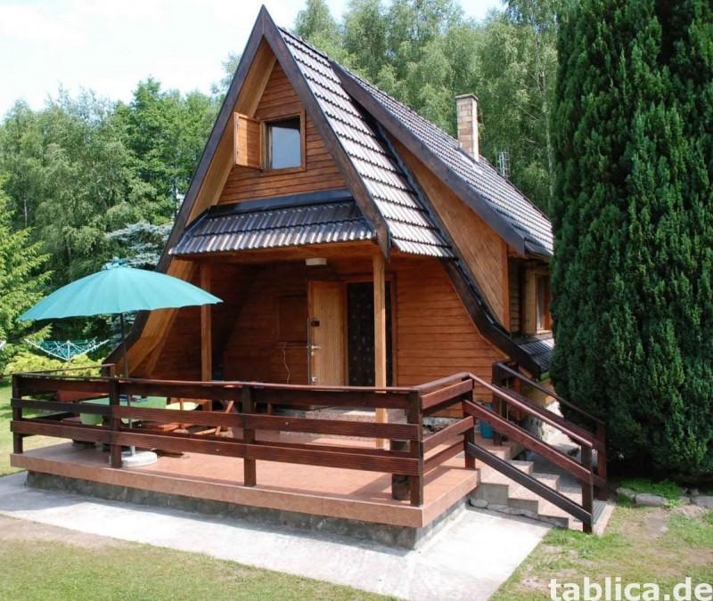 Ferienhaus max 6 Personen direkt am See in Insko (Polen) 0