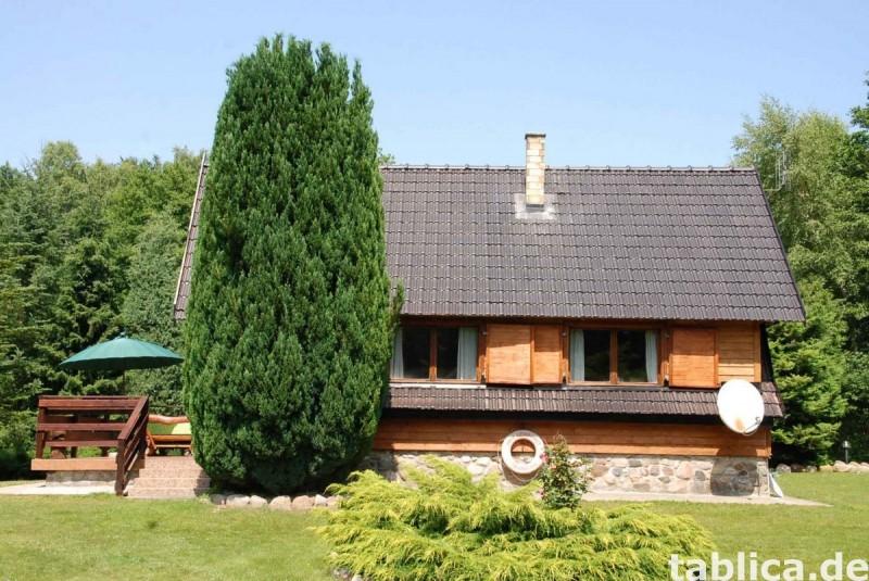 Ferienhaus max 6 Personen direkt am See in Insko (Polen) 2