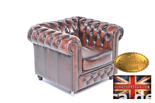 Chesterfield sofa 1 os Brighton antyczny braz 3