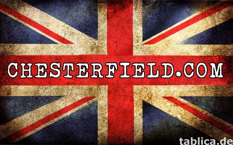 Chesterfield sofa 1 os Brighton antyczny braz 5