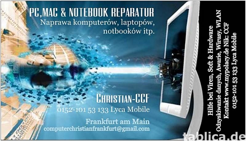 PC NAPRAWA KOMPUTERÓW FRANKFURT 0