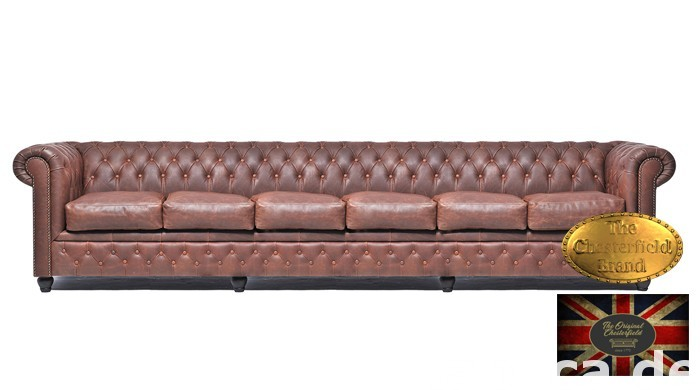Chesterfield sofa vintage braz 0
