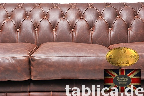 Chesterfield sofa vintage braz 1