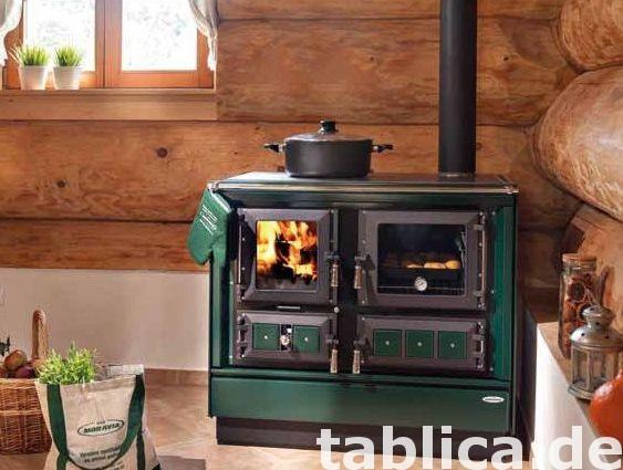 Kuchnie węglowe, na drewno, pellety, piecyki, kominki 85