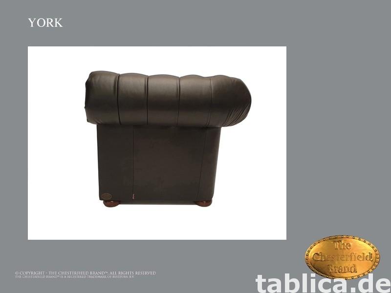 Chesterfield sofa 1 os York czarna  1