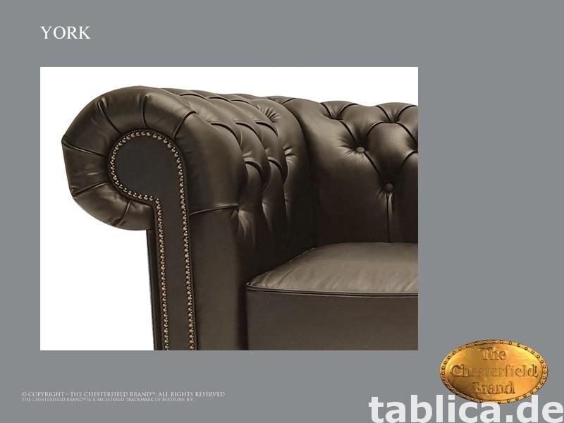 Chesterfield sofa 1 os York czarna  3