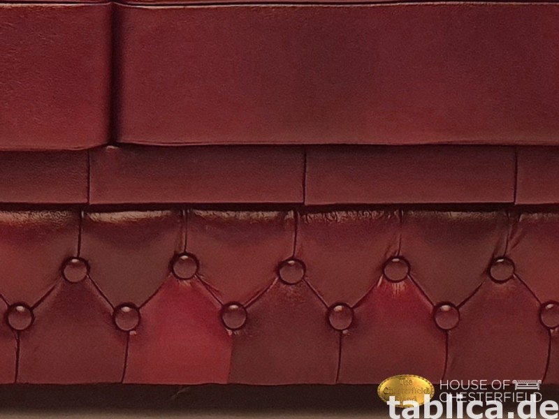 Chesterfield skorzana sofa 3 os NEW York  5