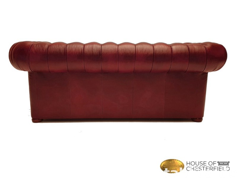 Chesterfield skorzana sofa 3 os NEW York  6
