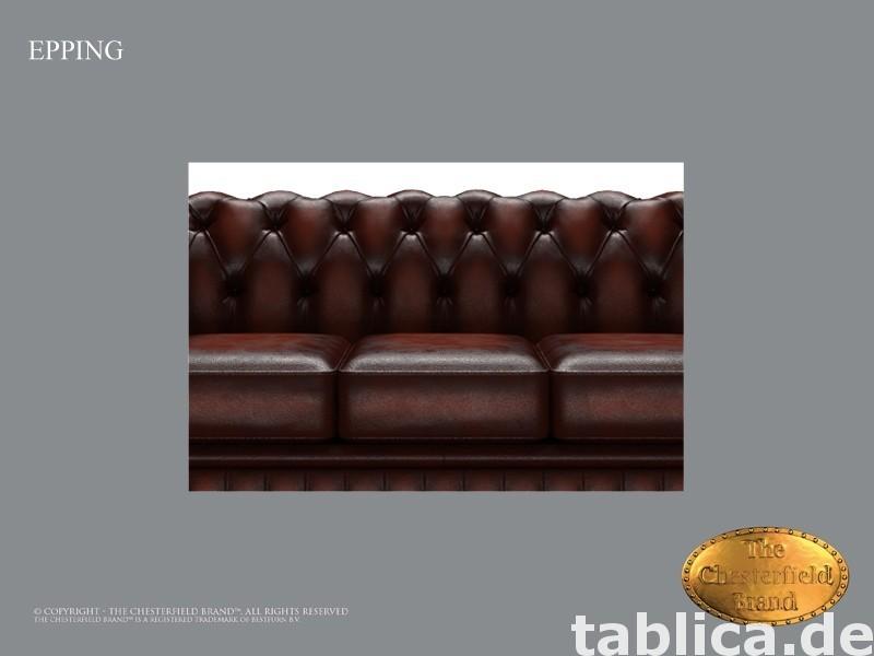 Chesterfield skorzana sofa 3 os Epping kasztan 1