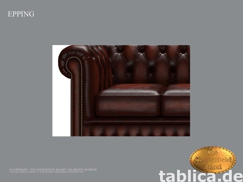 Chesterfield skorzana sofa 3 os Epping kasztan 2