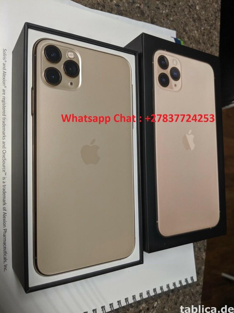 Apple iPhone 11 Pro  64GB = $600, iPhone 11 Pro Max  64GB  1