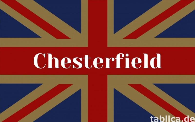 Chesterfield skorzany fotel Gosport 2