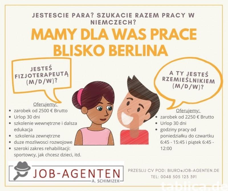 Fizjoterapeuta oferta pracy dla ciebie i partnera 0