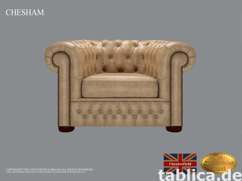 Chesterfield sofa 1 os CHESHAM kora 0