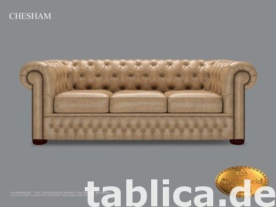 Chesterfield sofa 1 os CHESHAM kora 2