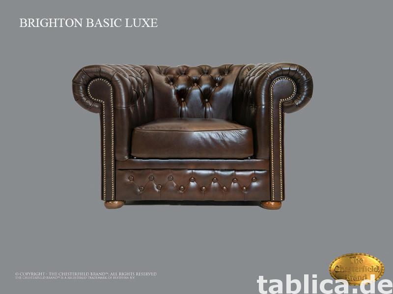 Chesterfield sofa 1 os Brighton Basic Lux 0
