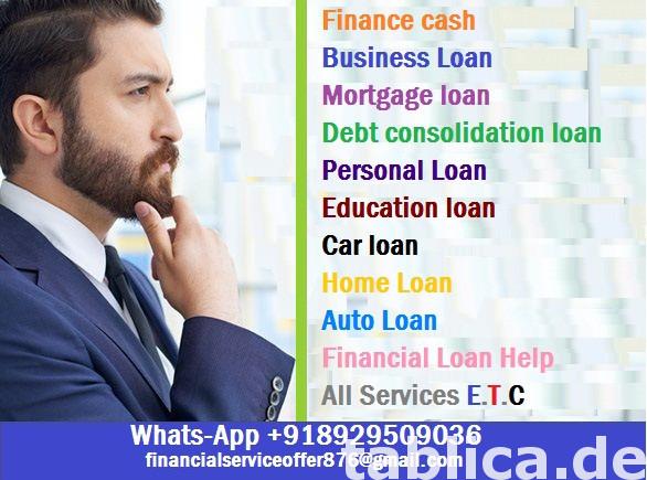Oferujemy pożyczki o niskim oprocentowaniu 3% Pożyczka bez k 1