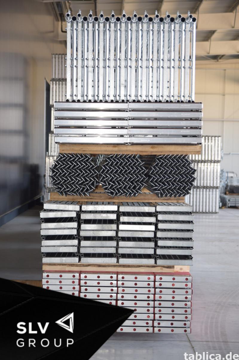 Rusztowanie Baumann podesty stalowe 1000m2 7