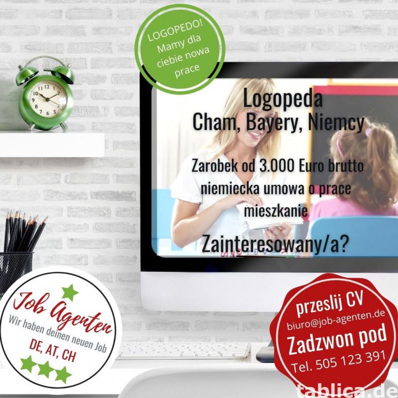 Oferta pracy dla Logopedy w Bawarii 0